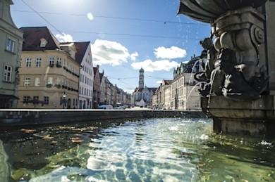 Augsburg und Wasser gehören seit jeher zusammen - ©bayern.by - Bernhard Huber