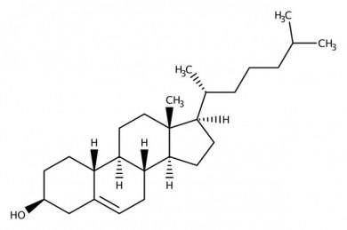Cholesterin-Struktur - ©PIxabay
