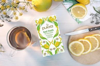 Feel Fresh Tea - ©Pukka Herbs Ltd.