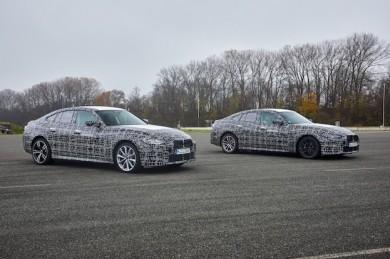 BMW i4 (Prototyp) - ©BMW-Group