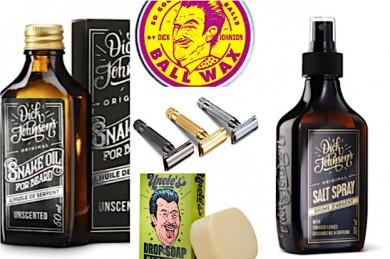 Snack Oil, Wax, Rasierer, Seife, SalzSpray - ©Dick Johnson_Greasy Fingers OY