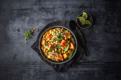 Sieht nicht nur lecker aus, schmeckt auch super! One Pot Quinoa-Curry  - ©d'aucy