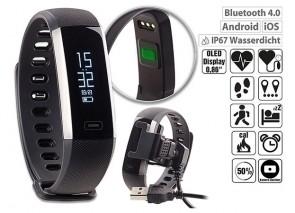 newgen medicals Fitness-Armband IP67