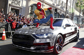 Premierenauto bei Spiderman