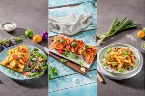 Gnocchi-Omlette, Zupfbrot, Mandelpfanne