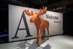 Die neue Mercedes-Benz A-Klasse: Weltpremiere mit Elch
