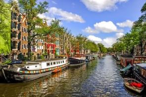 Grachten in Amsterdam - ©Pixabay
