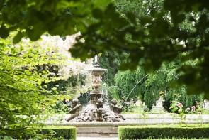Brunnen im Park von Schloss Kroměříž - ©Pixabay_Martin_Melicherik