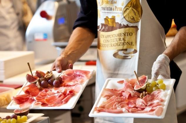 Alles Schinken: Prosciutto-Festival in Parma