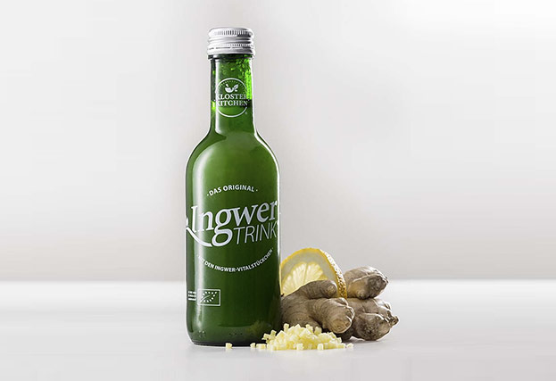 Ingwer-Drink nach altem Klosterrezept